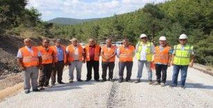11 köy asfalt yolla birbirine bağlandı