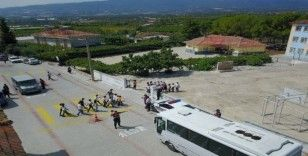 Jandarma'dan servis araçlarına 6 bin 816 TL ceza