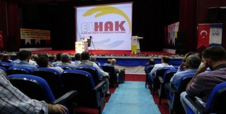 Elazığ'da, 'Önce Aile' konferansı