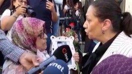 AK Parti milletvekili Oya Eronat oturma eylemi yapan aileleri ziyaret etti