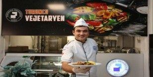 PAÜ yemekhanesinde 'Turuncu Vejetaryen'i hizmete açıldı
