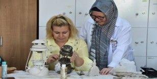 Kocasinanlı kadınlardan ekonomiye can suyu