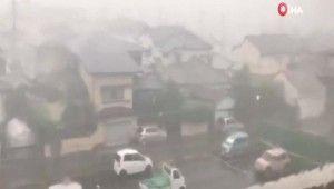Japonya'daki tayfunda 1 kişi öldü
