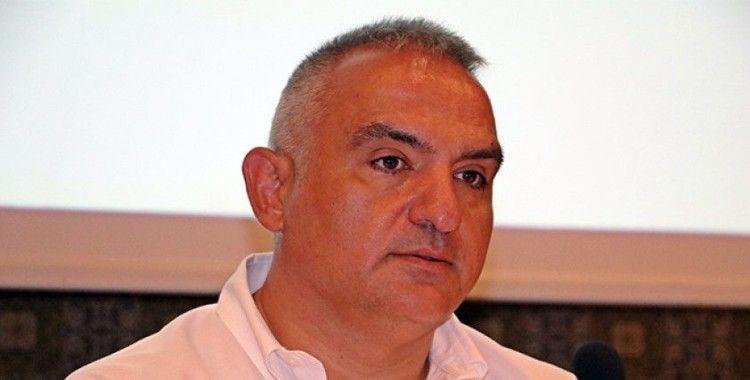 """Kültür ve Turizm Bakanı Ersoy: """"AKM bir simge yapı olarak yeniden yükseliyor"""""""