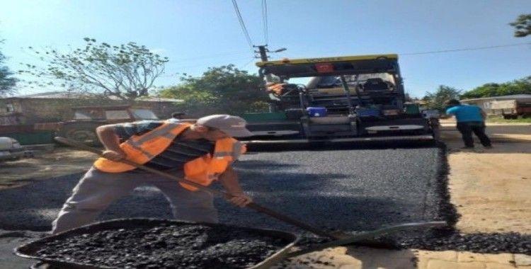 İzmit'te köy yolları yenileniyor