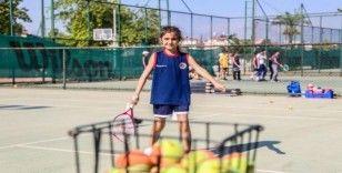 Kepez'in çocukları sporla büyüyor