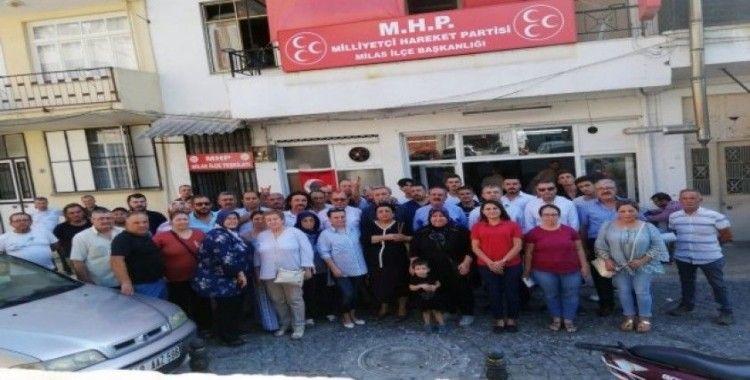 """MHP İl Başkanı Korkmaz, """"İyi Parti'de kopmalar hızlanacak"""""""