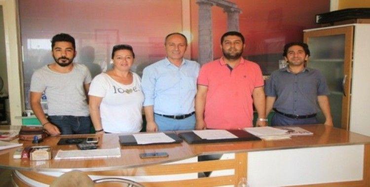 Didim Çalışan Gazeteciler Cemiyeti'nde Yaba güven tazeledi