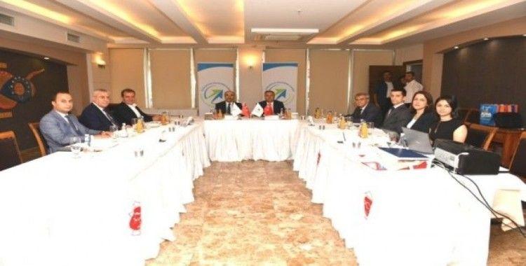 ÇKA Yönetim Kurulu Toplantısı Mersin'de yapıldı
