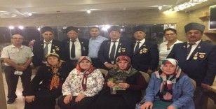 Gaziler onuruna ADD Başkanı Onur yemek verdi