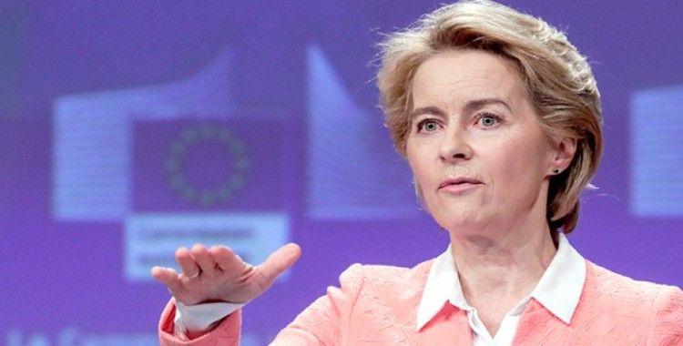 Avrupa Komisyonu Başkanı von der Leyen'den Türkiye açıklaması