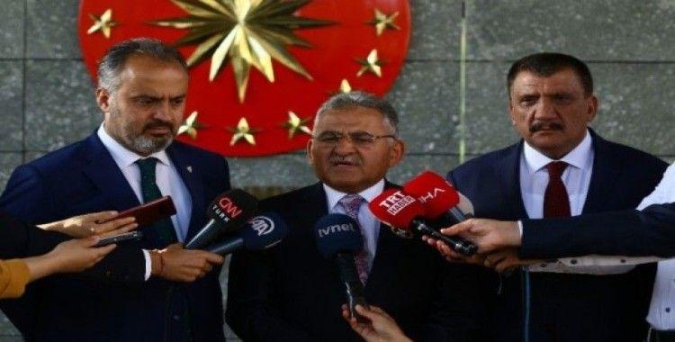 Külliye'deki toplantıya ilişkin belediye başkanlarından açıklama