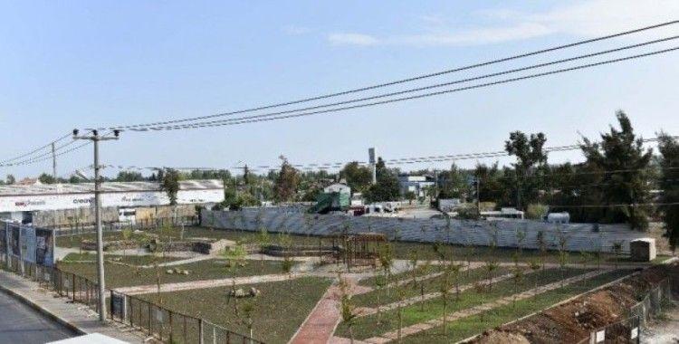 Zeytinköy'e güneş enerjisiyle aydınlanan park