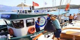 Muğla Büyükşehir 2 bin 597 tekneden atık topladı