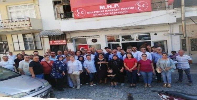 """MHP İl Başkanı Korkmaz: """"İYİ Parti'den kopmalar hızlanacak"""""""