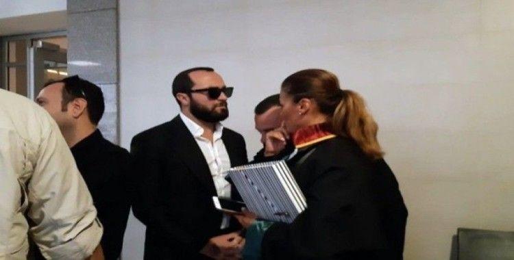 Şarkıcı Berkay adliyeye geldi