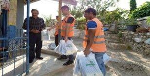Altındağ'da 120 bin çöp poşeti dağıtıldı