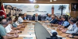 İzmir Orman Bölge Müdürü Zafer Derince göreve başladı
