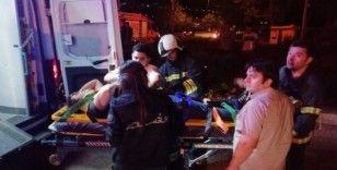 Kırmızı ışık ihlali kazaya neden oldu: 3 yaralı