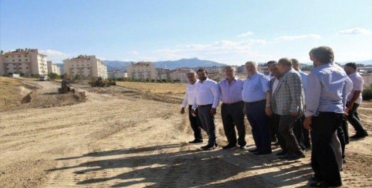 Milletvekili Demirbağ, Palu'da çalışmaları inceledi