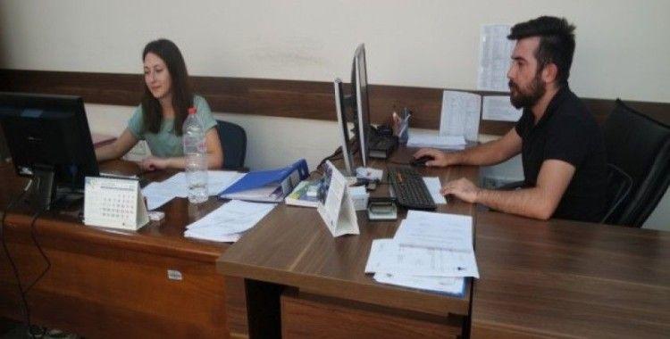 Çanakkale Çevre ve Şehircilik İl Müdürlüğü, 13 öğrenciyi istihdam etti