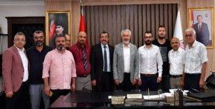CHP'den, AK Parti'li Belediye Başkanı Başdeğirmen'e nezaket ziyareti