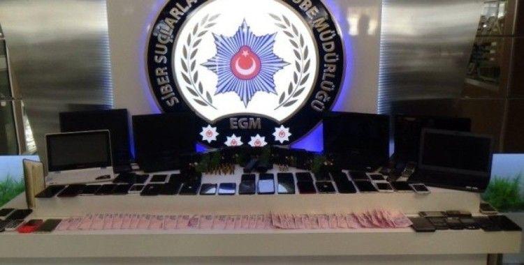 İstanbul merkezli 7 ilde siber dolandırıcılık operasyonu: 47 gözaltı