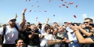 Gastronomi kentinde türkülerle biber hasadı