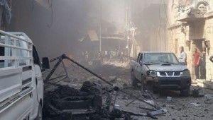 Afrin'de patlama, 2 ölü