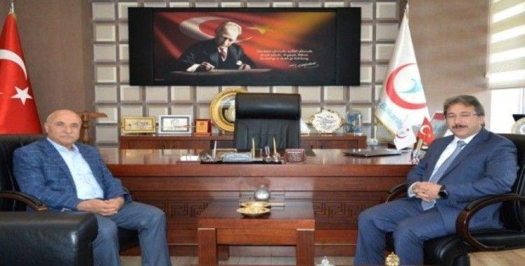 Milletvekili Dr. İsmail Tamer'den İl Sağlık Müdürü Benli'ye Ziyaret