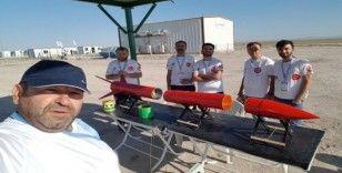 Gümüşhane'nin 'Türk Kırmızısı' roketi TEKNOFEST'te beğeni topladı