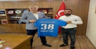 Kocasinan Ülküspor, Serkan Tok'u ziyaret etti