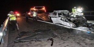 Elazığ'da feci kaza: 2 ölü