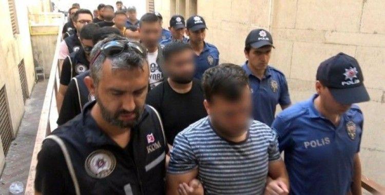 Gözaltına alınan tefecilerden 10'u tutuklandı