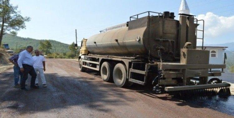 Büyükşehir'den Manavgat kırsalına asfalt