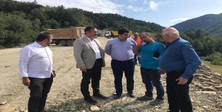 """Üçüncüoğlu: """"Köylerimiz için gece-gündüz çalışıyoruz"""""""