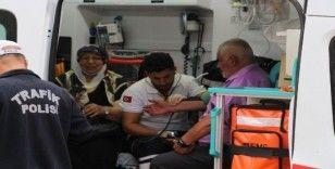 Kula'da trafik kazası: 2 yaralı