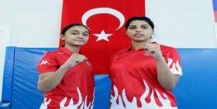 (Özel haber) Şampiyon tekvandocu kızların hedefi dünya şampiyonluğu
