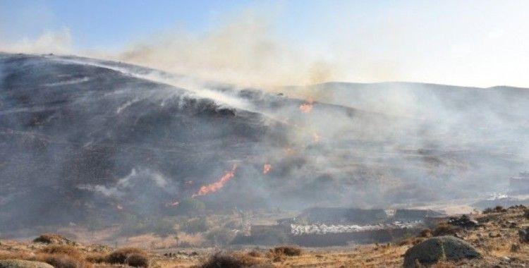 İzmir'de 2 ilçede orman yangını