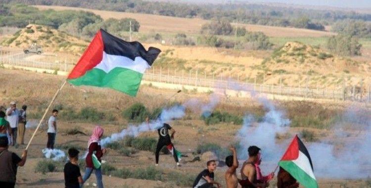 İsrail askerleri Gazze sınırında 55 Filistinliyi yaraladı