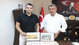 UNESCO Dünya Mirası Geçici Listesindeki Uzunyuva ve Beçin'e posta pullu tanıtım