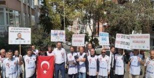 HDP Genel Merkezi önünde Diyarbakır'a destek eylemi