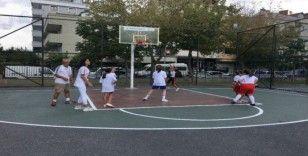 Bayrampaşa'da 3X3 Basketbol Turnuvası'nda final heyecanı yaşandı