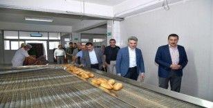 MEGSAŞ Malatya halkına kaliteli ekmek üretiyor
