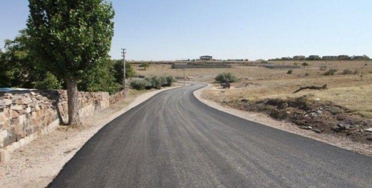 Talas'ta sonbahar asfaltı
