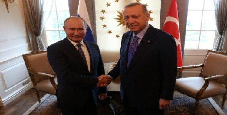 Rusya Devlet Başkanı Putin, Çankaya Köşkü'nde