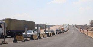Şanlıurfa'da çevik kuvvet köprülü kavşağı trafiğe açıldı