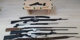 Çanakkale'de silah kaçakçılığı