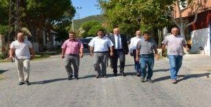 Başkan Tuncel'den Yuvaca Mahallesi'nde İnceleme yaptı