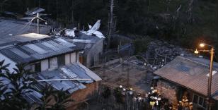 Kolombiya'da uçak düştü: 7 ölü
